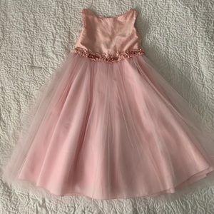 Pretty in PINK flower girl dress!